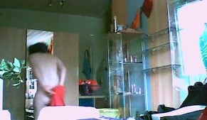 teenage blonde catched by hidden cam 01