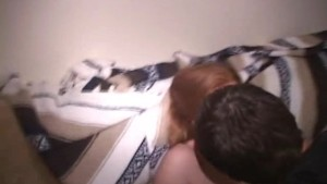 red head fucking on college party