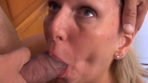 Gorgeous mature lady is hungry for cock