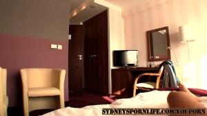 SEXY BLONDE HOTEL FUCK !!