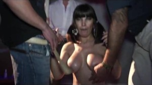 busty latina on weekend party