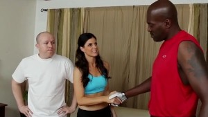 Slut Wife India Summer in Interracial Cuckold