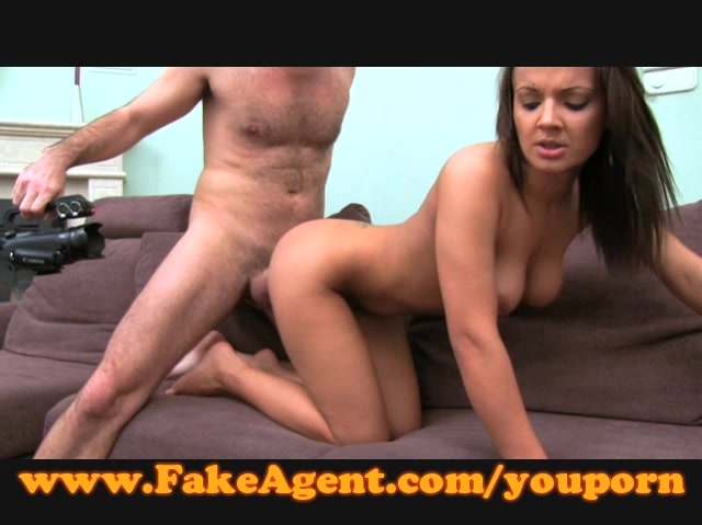 fake agente accidental creampie