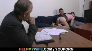 He paid him to fuck his wife