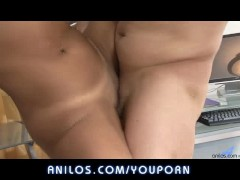 Cougar office sex with boss