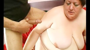 Mature BBW loves young cock - Julia Reaves