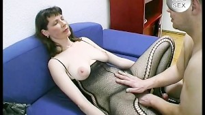 Older woman gets and gives pleasure - Julia Reaves