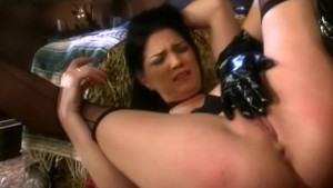 Hot Pussy Spanking Session