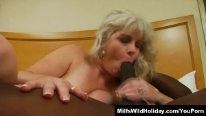 Milf Stacey Interracial Action