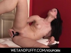 Pregnant squirter