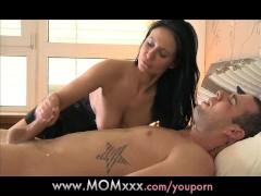 MOM lonely MILF gets a...
