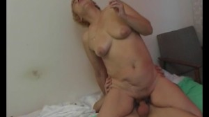 Young guy nails smoking mature lady - Julia Reaves