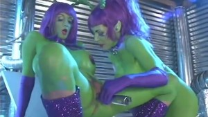 Busty Pornstars From Mars - Starr Productions
