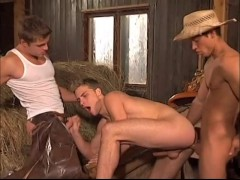 3 cowboys having fun - Staxus Productions