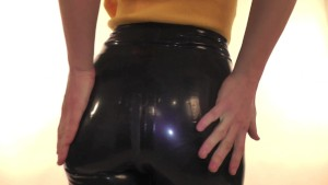Shine Tight Productions - Nikol in latex pants