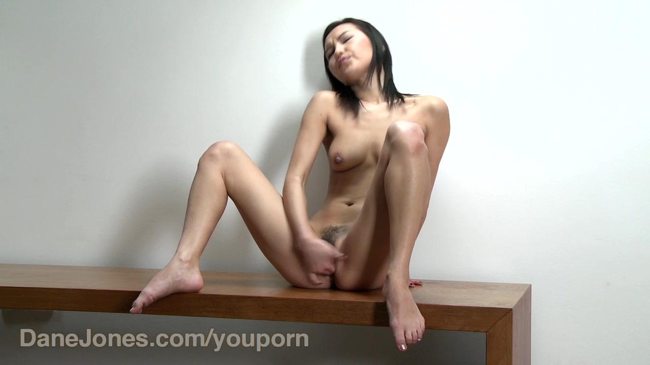 DaneJones HD Lovely asian girl plays with her cute pussy