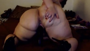 BBW With Huge Booty Webcam Show