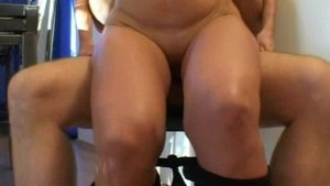Mature amateur wife sucks and fucks with facial cumshot