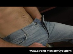 Picture Muscle Hunk Rick Bauer Masturbation