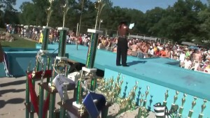 Poolside Pole Dancing Contest - DreamGirls