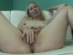 YouPorn Movie:Amateur blonde girl strips and...