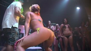 Sexy chicks shake their booty for the crowd - DreamGirls