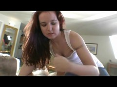 - Petite Teen Rubs My Co...