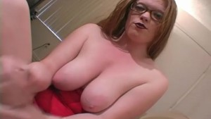 Nerdy Hottie With Natural Tits Rubs My Cock - Sologirlcontent