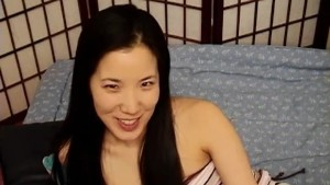 Cute Petite asian fucks herself good - Mavenhouse