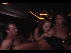 Picture Limo Backseat Drive By Threesome - VCA