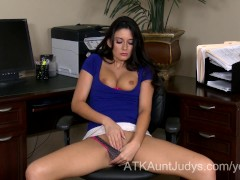 Naughty Milf Nikki Daniels is tired of wearing her clothes