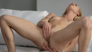 Fingers buried deep for an intensive orgasm