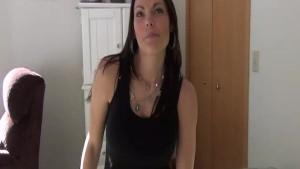 Hot Milf Carmen's First Time Video
