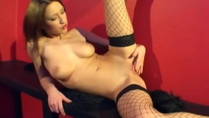 Hot Teen In Stockings Fingers Her Pussy - Activ Studio