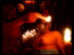 Mask lesbians experiment with hot wax - SMALL TALK