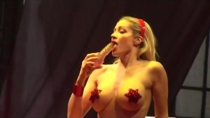 incredible busty sex show