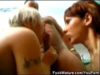 Three Mature Hotties Fucking