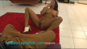 Rough lapdance by nasty czech brunette