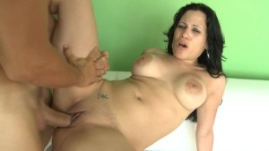 Latina sucks and fucks a throbbing Cock