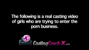 CastingCouch-X Girl from Minnesota tries porn