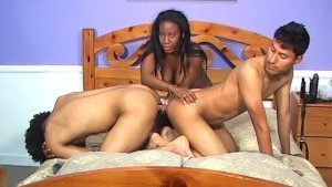 Two guys, a girl, and a fun time with toys - Pure Filth Productions