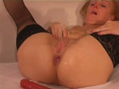 Mrs. Robinson Gets Covered In Cum - Bonk Films