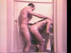 Moustache DILFS Fucking In The Shower - Historic Erotica