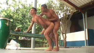 Training buddies have a quickie - The French Connection