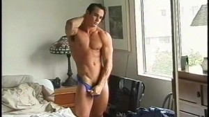Muscle man plays with his cock - Pacific Sun Entertainment