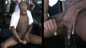 Jerking My Cock At The Gym - The French Connection