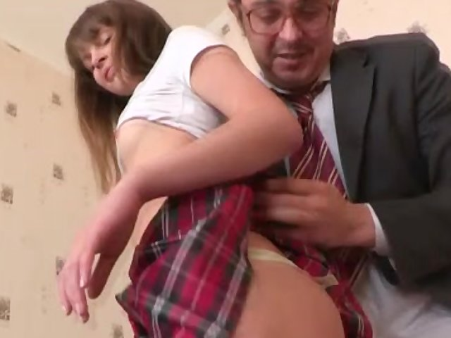 tricky old teacher student pussy