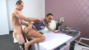 FemaleAgent. New MILF agent likes it hard and fast