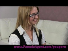 FemaleAgent. MILF corrupts delicious 20 year old