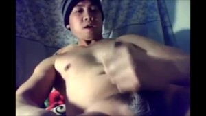hot stud pinoy jacking off